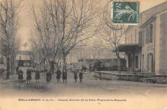Mallemort Cours Entree De La Ville Place De La Bascule - Mallemort