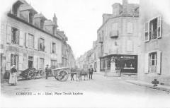 Ussel Place Treich Laplene (dos non divisé) - Ussel