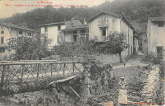 Nescus Pres La Bastide De Serou Vue Du Village - Nescus