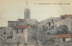 Fillols Quartier De L'Eglise (petit village cliché rare - Fillols