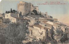 Ruines Du Village Et De La Chapelle De Corbere D'En Haut (cliché colorisé - Corbère