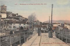 Bouleternere Et La Route De Corbere (cliché colorisé - Bouleternère