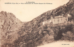Sorede Vue Generale De Notre Dame Du Chateau - Sorède