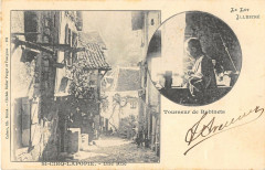 Saint Cirq Lapopie Une Rue Tourneur De Robinets (dos non divisé) - Saint-Cirq-Lapopie