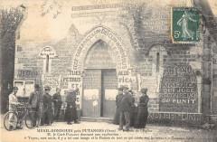 Menil Gondouin Pres Putanges Facade De L'Eglise (cliché rare horizontal - Ri