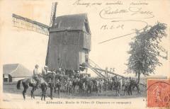 Abbeville Moulin De Villers 3e Chasseurs En Campagne - Abbeville