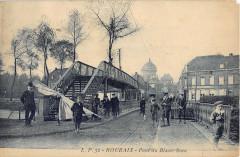 Roubaix Pont Du Blanc Seau (cpa pas courante - Roubaix