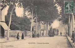 Saintes Avenue Gambetta (Train Dans La Rue - Saintes