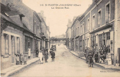 Saint Martin D'Auxigny La Grande Rue - Saint-Martin-d'Auxigny