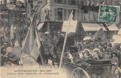 Saint Quentin 1910 Fete Federale De Gymnastique - Saint-Quentin