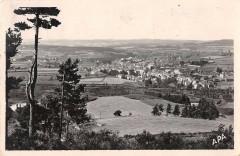 Langogne Vue Generale Sur La Vallee De L'Allier - Langogne