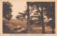 Langogne Paysage Sur L'Allier Route Du Lac - Langogne