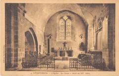 Pontorson L'Eglise Le Choeur Autel - Pontorson