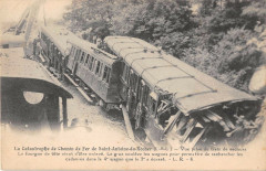 La Catastrophe De Chemin De Fer DeSaint-Antoine Du Rocher Train De Secours - Saint-Antoine-du-Rocher