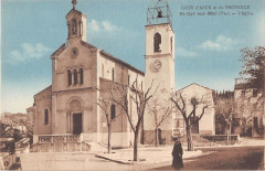Saint Cyr Sur Mer L'Eglise - Saint-Cyr-sur-Mer
