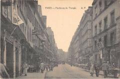 Paris XIe Faubourg Du Temple - Paris 11e