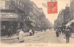 Paris XIe La Rue Oberkampf - Paris 11e