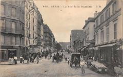 Paris XIe La Rue De La Roquette - Paris 11e