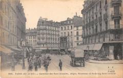 Paris XIIe Carrefour Des Rues Crozatier Aligre Trousseau Fg St Antoine - Paris 12e