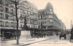 Paris XIIe Avenue Ledru Rollin Et Faubourg Saint Antoine - Paris 12e