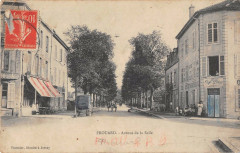 Frouard Avenue De La Salle (cpa rare - Frouard