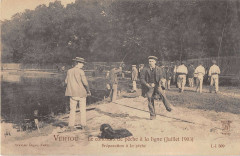 Vertou Le Concours De Peche A La Ligne 1903 Preparation A La Peche (Rare - Vertou