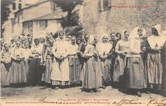 Sortie De Messe A Balagueres - Balaguères