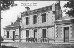 Gabarnac La Mairie Et Les Ecoles - Gabarnac