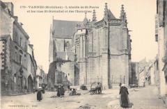 Vannes Rues St Guenahel Et Des Chanoines - Vannes