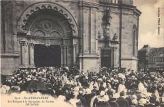 Sainte Anne D'Auray Les Eveques  A La Procession Du Pardon - Auray