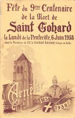 Arneke Fete Du 9e Centenaire De La Mort De Saint Gohard (pas courante - Arnèke