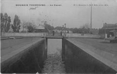 Roubaix Tourcoing Le Canal (cpa émaillée Cliche Pas Courant - Roubaix