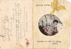 Lodeve Rare Cpa Depliante Souvenir Du 142e De Ligne A Lodeve (voir scan - Lodève