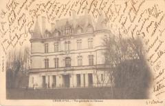 Charleval Vue Generale Du Chateau  (dos non divisé) - Charleval