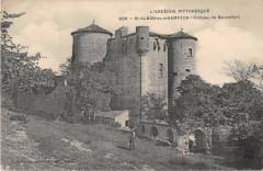 Saint Alban Sous Sampzon Chateau De Baumefort - Sampzon