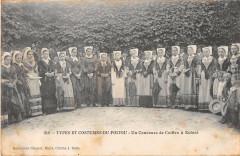 Type Et Costumes Du Poitou Un Concours De Coiffes A Echire - Échiré