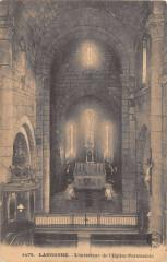 Langogne Interieur Eglise Paroissiale - Langogne