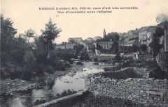 Auroux Vue D'Ensemble Avec L'Hopital - Auroux