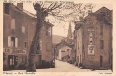 Villefort Rue Nouvelle (cliché pas courant - Villefort