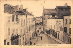 Saint Sever Sur Adour Place Leon Dufour - Léon