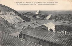 Exploitation Des Carrieres De Gaujacq Par Prisonniers Guerre Machines - Gaujacq