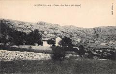 Caussols Chalet Les Buis (cliché pas courant - Caussols