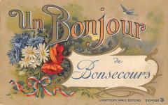 Un Bonjour De Bonsecours - Bonsecours