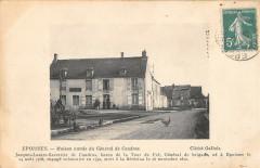 Epoisses Maison Natale Du General De Candras (cpa rare - Époisses