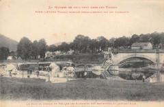 Le Pont du Chemin de Fer que les Allemands on fait sauter en Quittant Raon - Raon-l'Étape