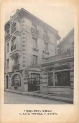 Biarritz Hotel Beau Sejour Rue Du Vieux Port (rare cliché - Biarritz