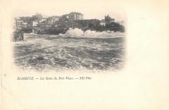 Biarritz Les Bains Du Port Vieux  (dos non divisé) - Biarritz