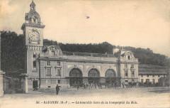 Bayonne La Nouvelle Gare De La Cie Du Midi - Bayonne
