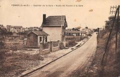 Fosses Quartier De La Gare Route De Fosses A La Gare (pas courante - Fosses