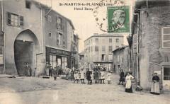Saint Martin La Plaine Hotel Bessy - Saint-Martin-la-Plaine